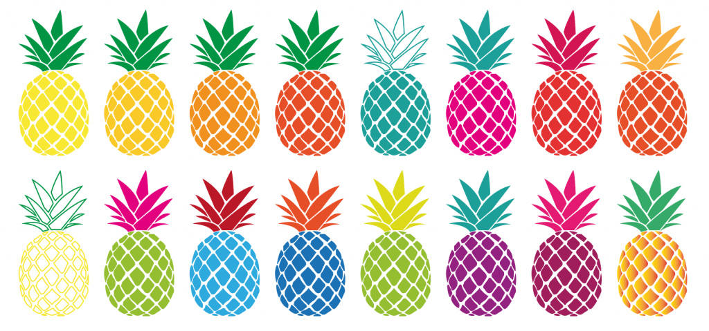 Pineapple Illustrations - Kurt Trew