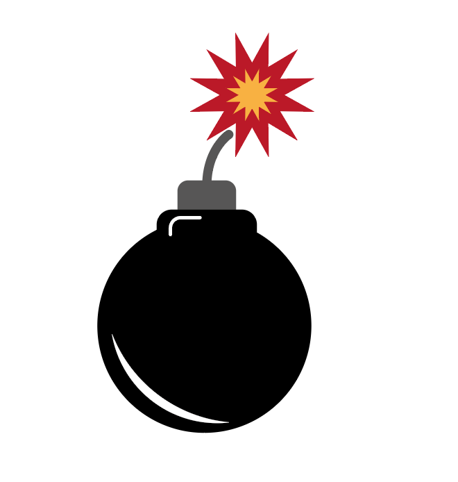 Bomb Illustration - Kurt Trew